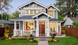 Image of a beautiful house
