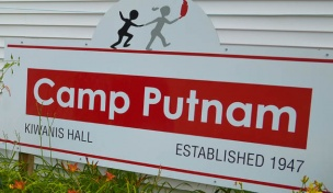 Image of the Camp Putnam sign
