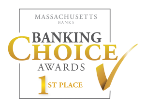 1st place Banking Choice Awards Central Massachusetts Logo