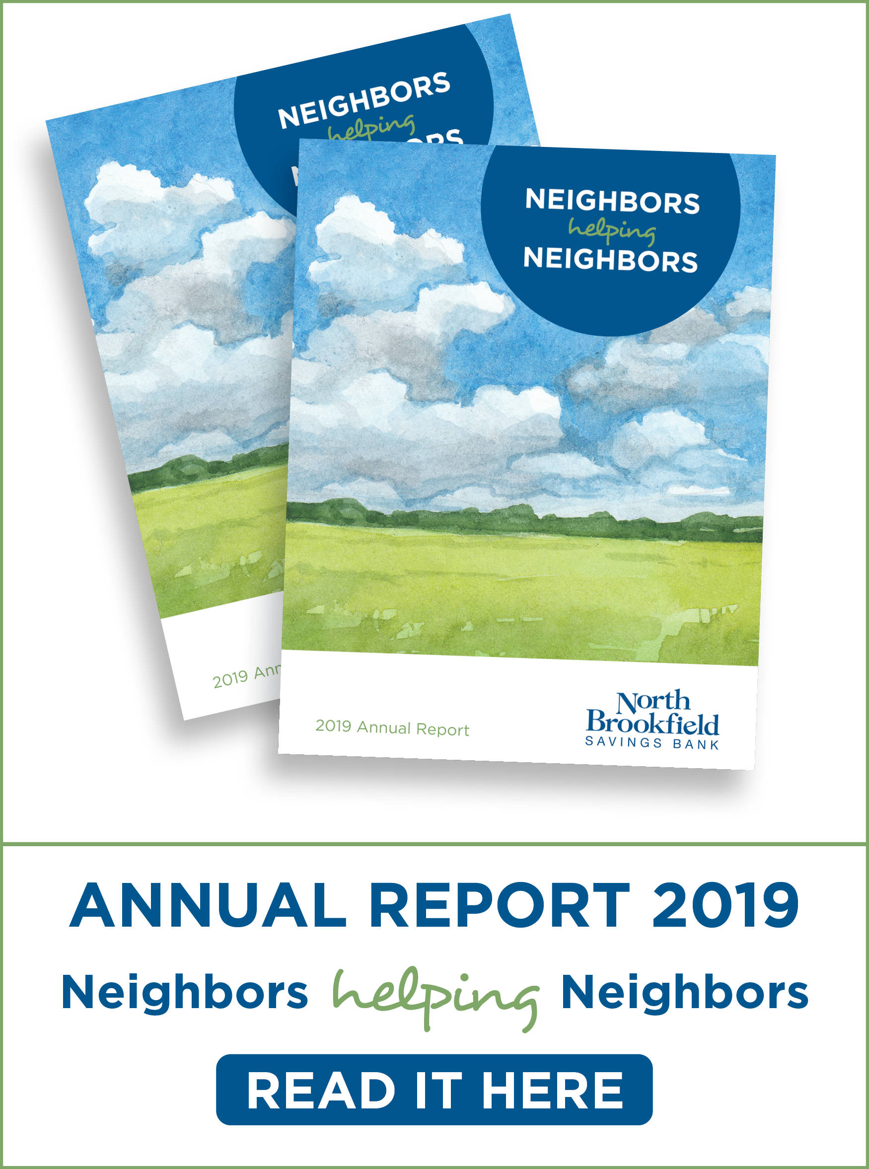 2019 Annual Report banner. Click to learn more.